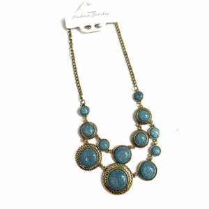 Blue Stone Necklace - Silvana Boutique