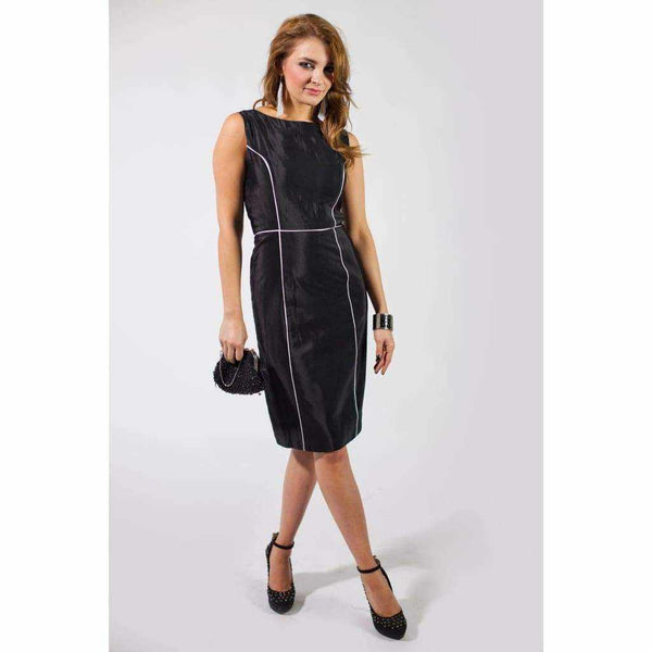 Classic Shift black dress - Silvana Boutique