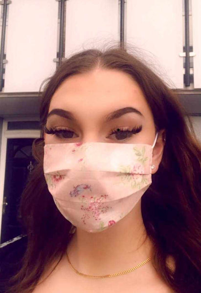 COTTON FACE MASK WITH FILTER - Silvana Boutique