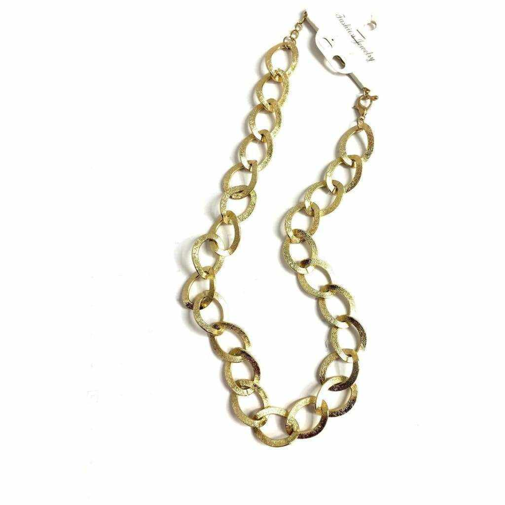 Gold Chain Necklace - Silvana Boutique