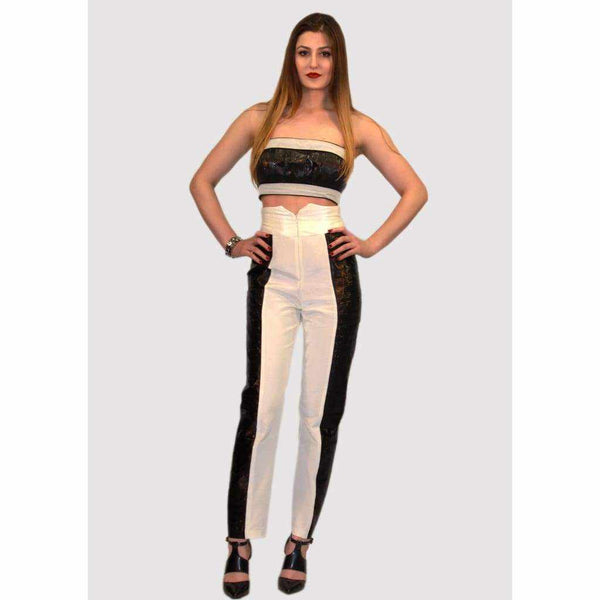Highwaisted trousers - Silvana Boutique