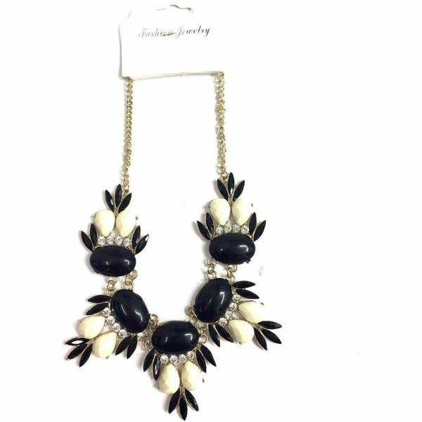 Monochrome Necklace - Silvana Boutique