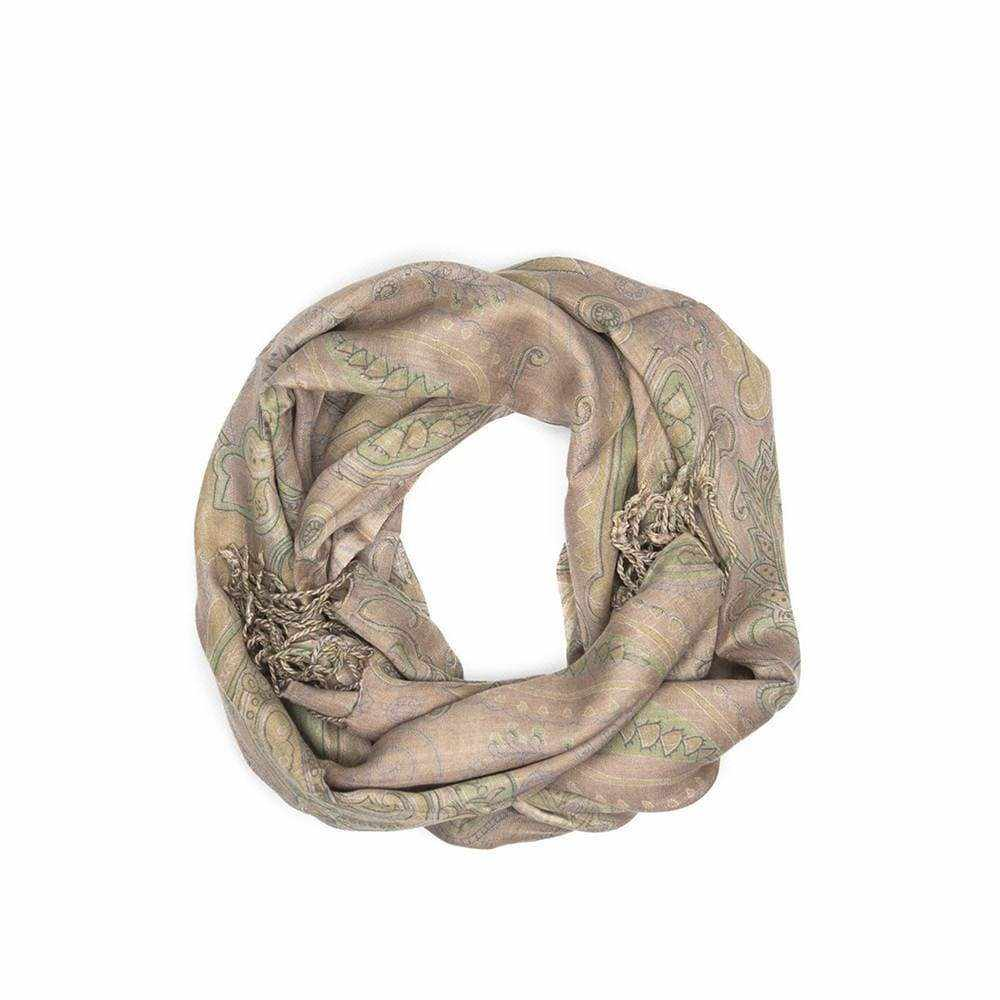 Paisley Print Scarf - Silvana Boutique