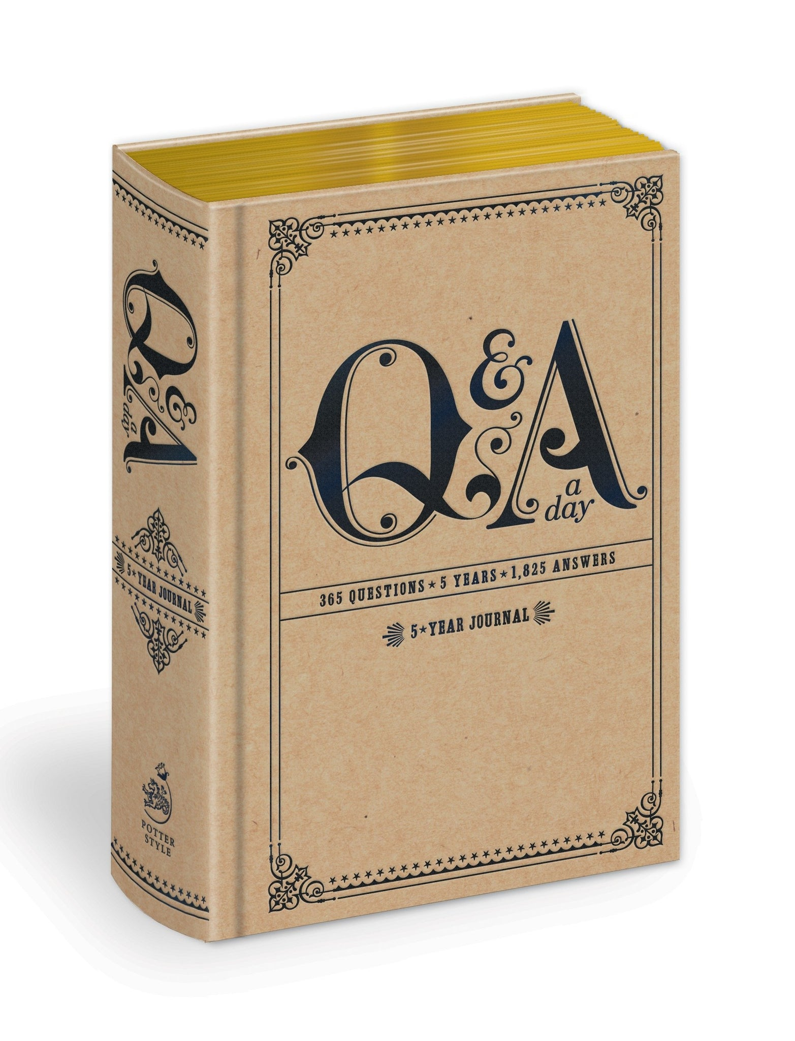 Q & A Five A Day:  Five Year Journal
