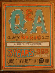 Q&A a day for kids - a 3 year journal