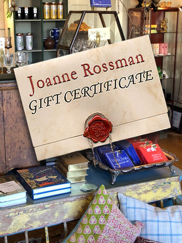 Gift Certificates - for that wild shopping spree!
