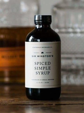 Sir Winston's Spiced Simple Syrup