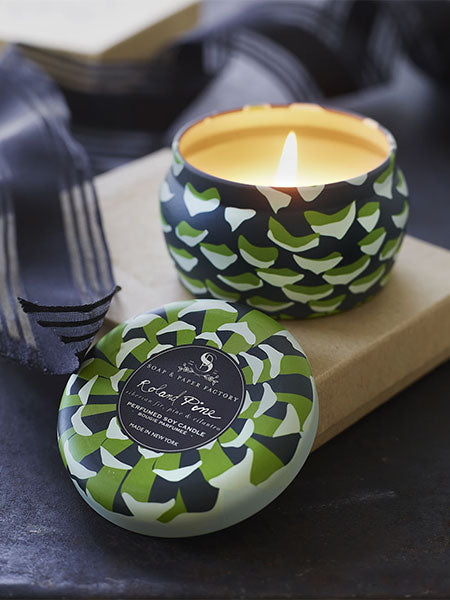 Roland Pine Soy Candle in a Tin