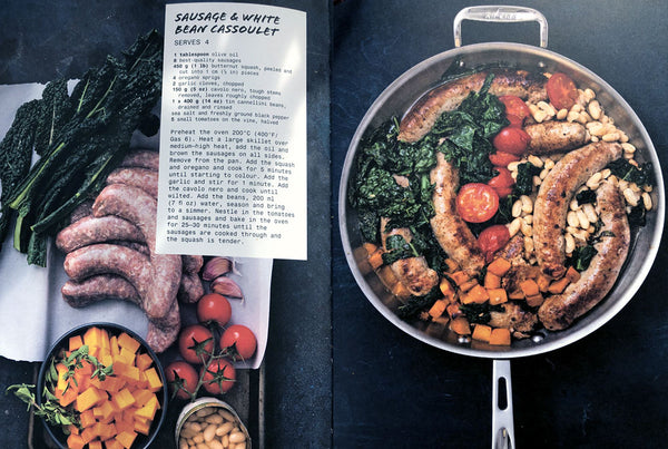 """Skillet"" by Anna Helm Baxter - 70 delicious 1 Pan Meals"