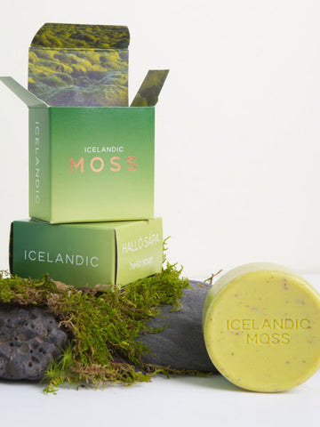 Hallo Icelandic Moss Bar Soap