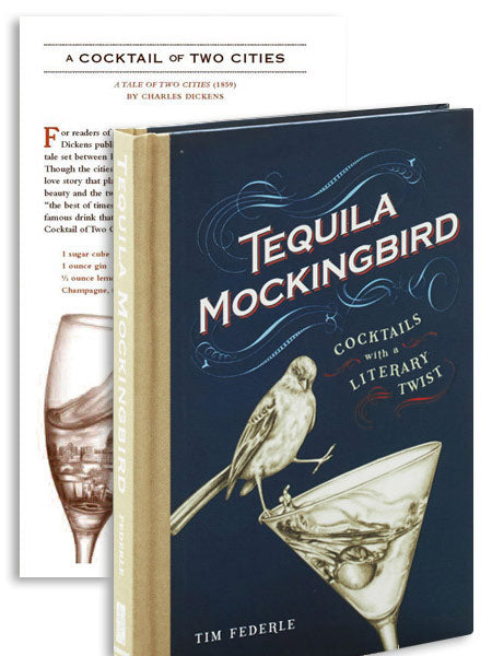 tequila mockingbird: cocktails/literary twist