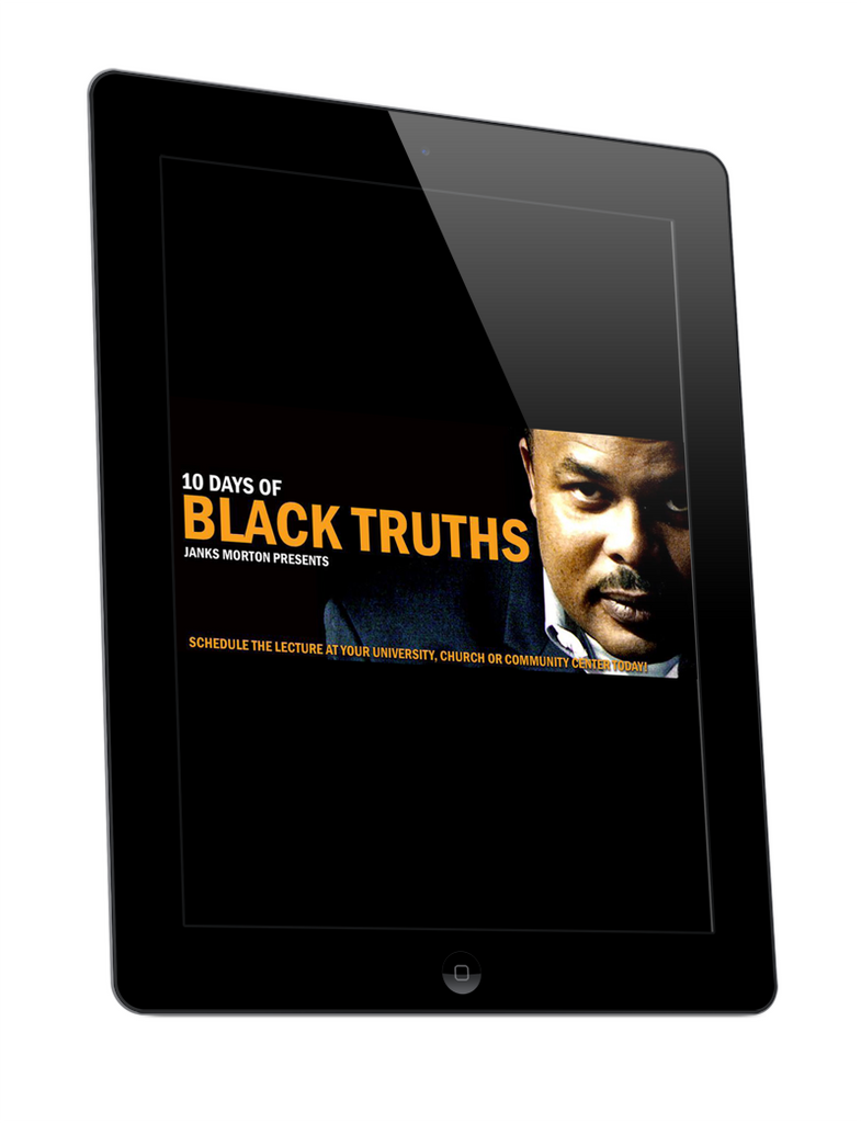 10 Days of Black Truths by Janks Morton (E-Book)