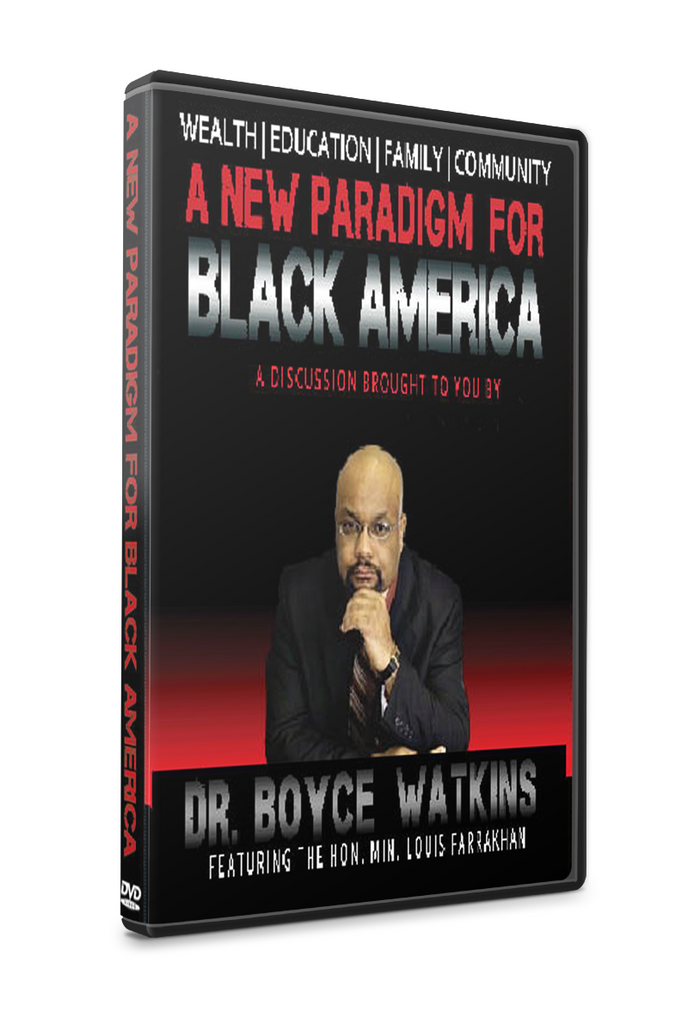 A New Paradigm for Black America feat. Min. Louis Farrakhan (DVD)