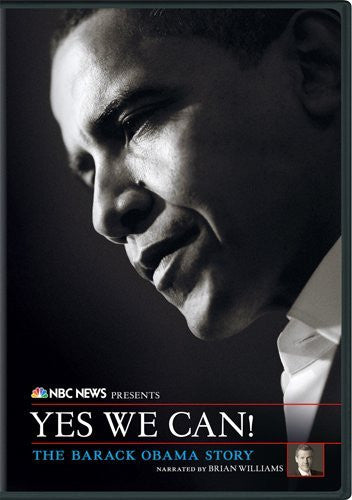 NBC News Presents Yes We Can! The Barack Obama Story -DVD