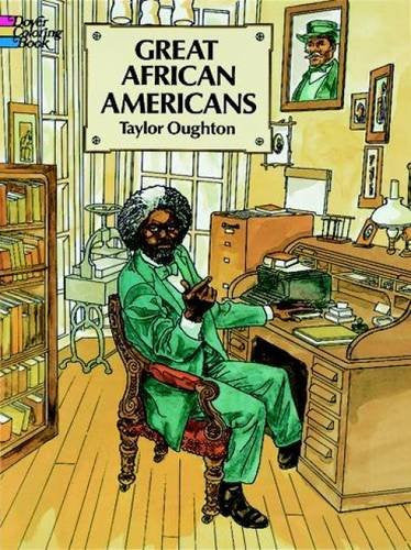 Great African Americans Coloring Book (Dover History Coloring Book)