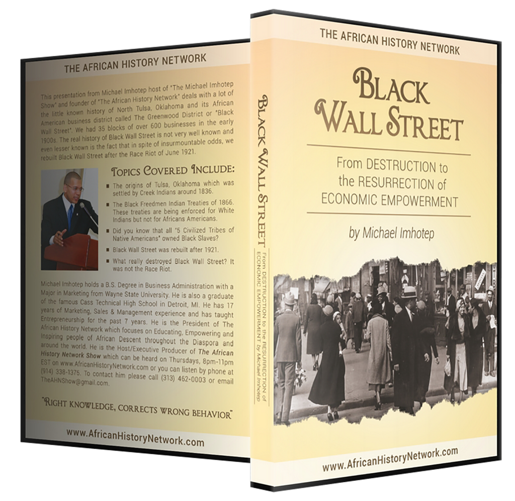 Black Wall Street: From Destruction To The Resurrection of Economic Empowerment