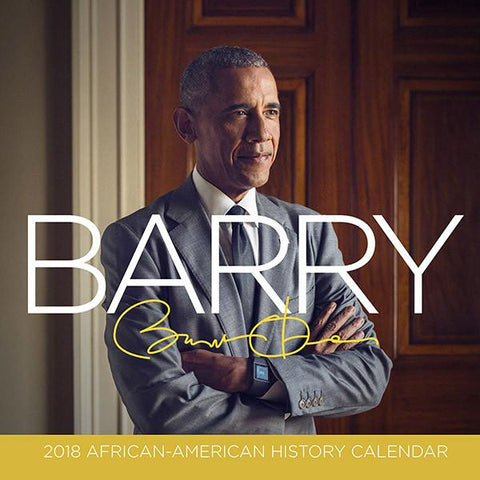 "2018 ""Barry"" Barack  Obama Calendar"