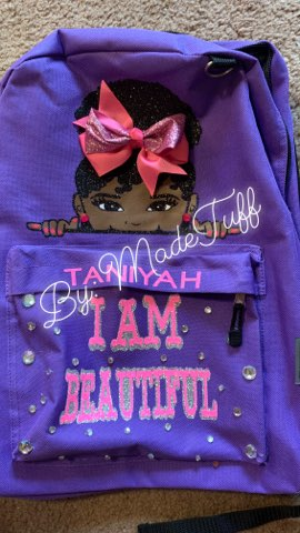 Black Girl Affirmation Backpacks