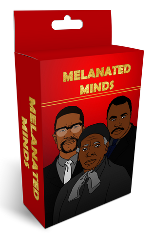 MELANATED MINDS FLASHCARDS -- Black Scholars In History (Pre-Order)