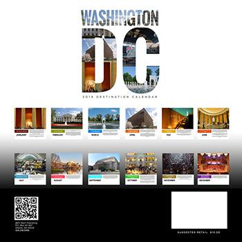 2018 Washington DC Calendar