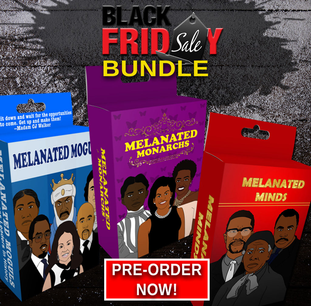 MELANATED FLASHCARDS Holiday Bundle