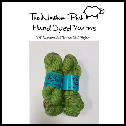 The Northern Purl Hand Dyed Yarns