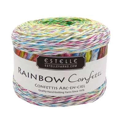 Estelle Yarns Rainbow Confetti