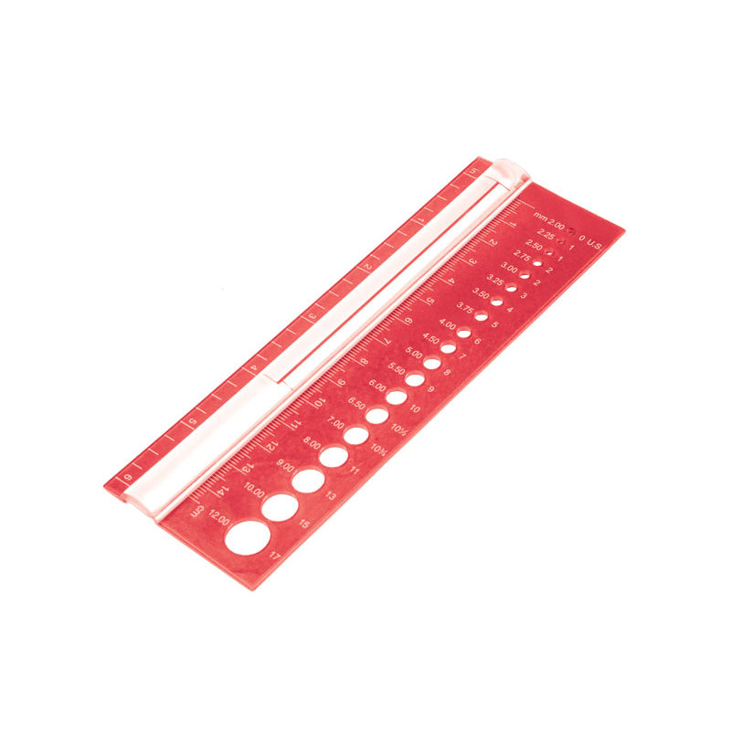 Knitters Pride Rectangle Needle Gauge