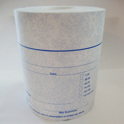 RXR-IN Indiana Thermal Prescription Paper Rolls