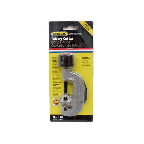"General Tools 120 Professional Retractable 1/8""-1-1/8"" Steel Tubing Cutter"