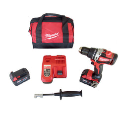 "Milwaukee 2902-20 M18 1/2"" Brushless Hammer Drill Kit"
