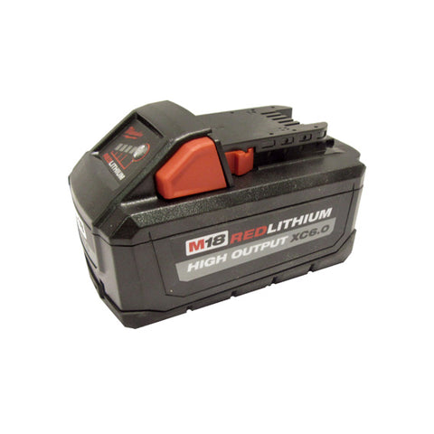 Milwaukee 48-11-1865 M18 HIGH OUTPUT Li-Ion XC6.0 Battery