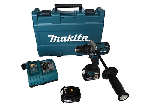 "Makita XPH07 18V 1/2"" Brushless Hammer Drill Kit"