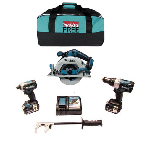 *NEW LIMITED EDITION KIT *Makita 18V Brushless 3 Piece Kit (Circ Saw)