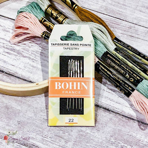 Bohin Tapestry Hand Needles - Sassi Stitch Boutique