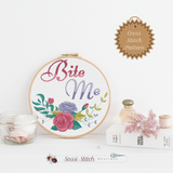 Bite Me Cross Stitch Pattern