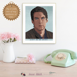 Billy Jensen Cross Stitch Pattern - Sassi Stitch Boutique