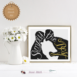 Simply The Best - Schitt's Creek Cross Stitch Kit - Sassi Stitch Boutique