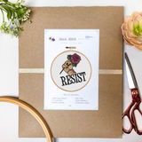 Resist Cross Stitch Kit - Sassi Stitch Boutique