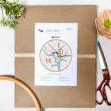 DC Transit Map Cross Stitch Kit - Sassi Stitch Boutique