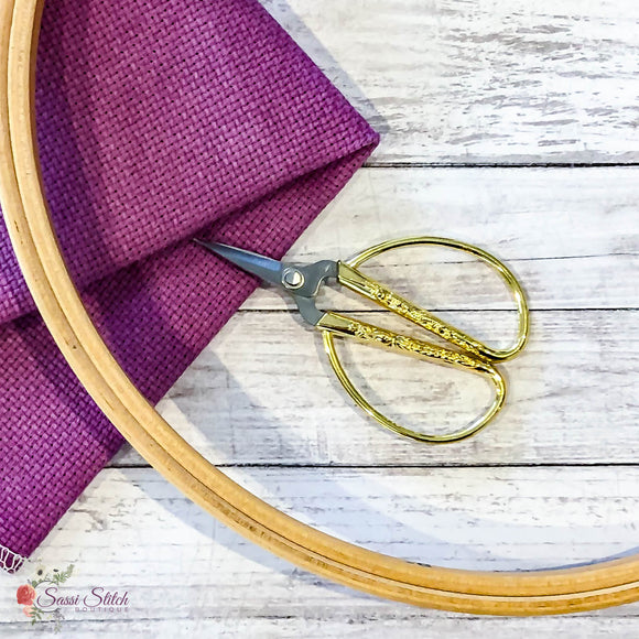 Vintage Style Embroidery Scissors - Sassi Stitch Boutique