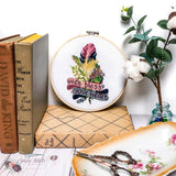 Well Bless Your Heart Cross Stitch Pattern - Sassi Stitch Boutique