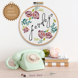 Pendjeo Cross Stitch Pattern - Sassi Stitch Boutique