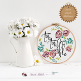 Twatwaffle Cross Stitch Pattern - Sassi Stitch Boutique