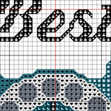 Gossip is the Devil's Telephone Cross Stitch Kit - Sassi Stitch Boutique