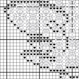 South Carolina Blackwork Cross Stitch Pattern - Sassi Stitch Boutique