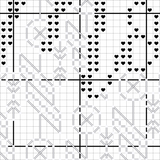 Montana Blackwork Cross Stitch Pattern - Sassi Stitch Boutique