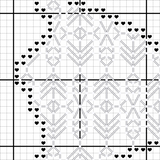 Hawaii Blackwork Cross Stitch Pattern - Sassi Stitch Boutique