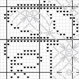 Delaware Blackwork Cross Stitch Pattern - Sassi Stitch Boutique