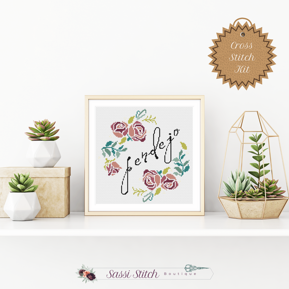Pendejo Cross Stitch Kit - Sassi Stitch Boutique